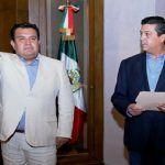 Toma protesta Cabeza de vaca a nuevo Procurador de Tamaulipas