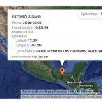 Ocurre sismo de 4.8 grados en Veracruz