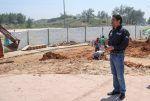 Andrés Zorrilla supervisa avance de obra turística en Playa Miramar