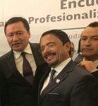 Asiste Andrés Zorrilla a importante reunión en la Secretaría de Gobernación