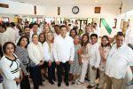Asiste Alma Laura Amparán a ceremonia del 100 Aniversario del Día de la Marina Nacional