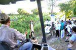 Inicia Alma Laura Amparán construcción del dren pluvial El Edén