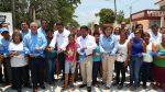 Andrés Zorrilla entrega obra de pavimentación en beneficio de los vecinos de la Colonia Ignacio Zaragoza
