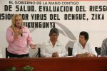 Asiste Alma Laura Amparán a reuniónsobre evaluación del