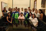 Convive Magdalena Peraza con niños tampiqueños ganadores de la Olimpiada del Conocimiento Infantil 2017