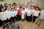 Entrega Ayuntamiento porteño y DIF Tampico actas de matrimonios colectivos