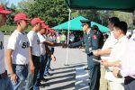 Participa gobierno de Tampico en entrega de cartillas del Servicio Militar Nacional