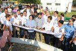 Entrega gobierno de Tampico equipamiento en diferentes parques de la ciudad