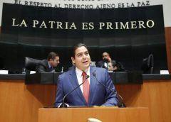 Presenta Senador Cabeza de Vaca iniciativa contra extorsiones de los grupos criminales