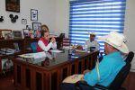 La atención ciudadana; prioridad para Rosalia Alvarez Muños.