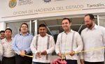 Inauguran la Remodelación de las Oficinas de Hacienda Municipal en Tamalin