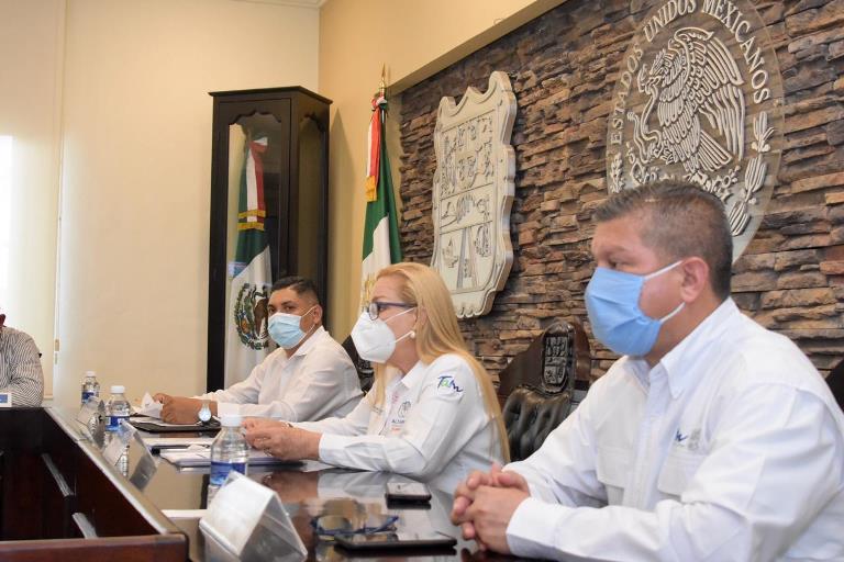 Intensifican esfuerzos Gobiernos de Tamaulipas y de Altamira para frenar COVID-19