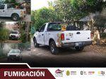 Inicia Chinampa de Gorostiza campaña de descacharrización, limpieza y fumigación contra dengue
