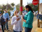 Garantiza Alma Laura Amparán desarrollo y bienestar para las familias