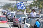 Miles de ciudadanos en más de 25 mil automóviles participan en mega caravanas de apoyo al gobernador de Tamaulipas